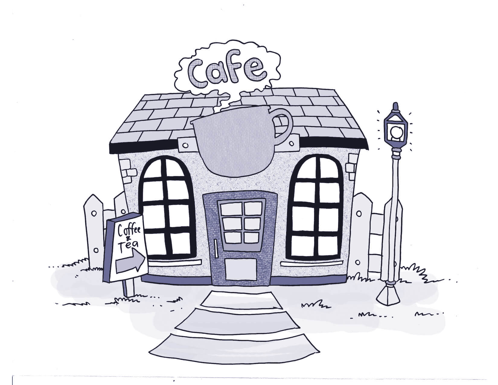 get council approval for cafe